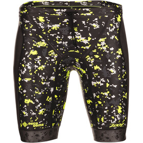 Zoot Wave Kelluntashortsit Miehet, black/high-viz-yellow